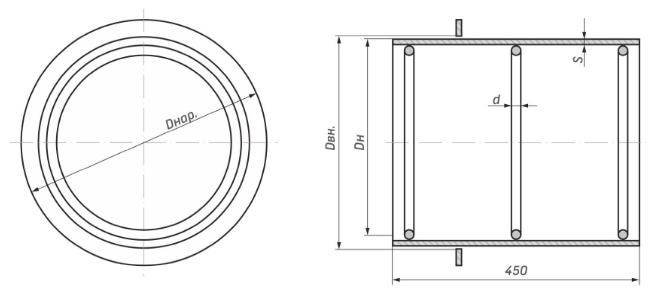 Сальник 3.903 кл-13 для инженерных сетей